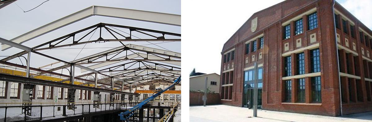Referenzen stahlbau heppner for Stahlbau aussteifung